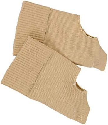 Healifty handgelenkstütze klammer daumen hand handgelenkstütze handschuhe arthritis kompression für männer frauen (gelb größe s)