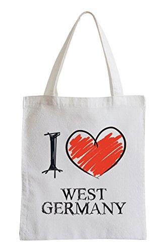 Amo Germania Ovest Fun sacchetto di iuta Precio Bajo Para La Venta Salida Ebay Mejor Vendido Comprar Descuento Barato HPzAO
