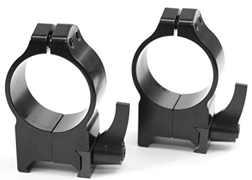 Warne Scope Mounts Warne 30mm QD High Gloss Gun Scope Rings
