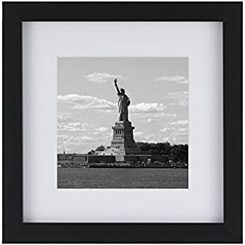 Amazon Ohbingo 8x8 Black Picture Photo Frames With Mat For 4x4