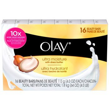 Olay Ultra Moisture Beauty Bars 16 count (4 oz each) from Olay
