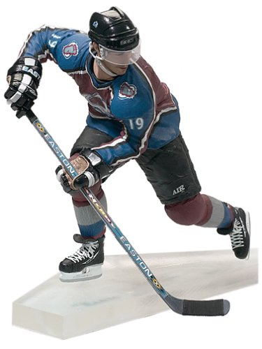 Mcfarlane Toys Nhl Sports Picks (McFarlane Toys NHL Sports Picks Series 3 Action Figure: Joe Sakic (Colorado Avalanche) Maroon Jersey)