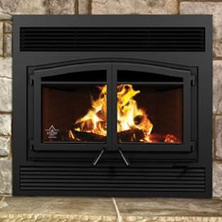 FL-064 Flame Monaco XL Woodburning Fireplace