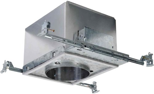 HALO Recessed H280ELICAT 120-Volt to 277-Volt 6-Inch Housing Compact Fluorescent IC Air-Tite 18-Watt Electronic HPF Ballast Lamp - Hpf Compact