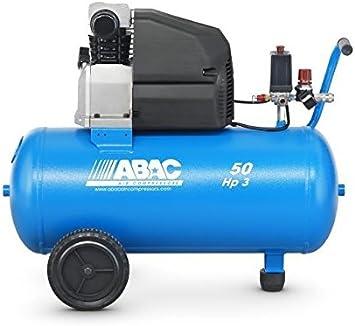 Compresor Abac Montecarlo L30P 3Hp 50 Lt: Amazon.es: Bricolaje y ...