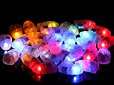 Moonnight Store LED Lamps Balloon Lights for Paper Lantern Balloon White or Multicolor Christmas Party Decoration (White)