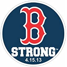 "B Strong Small 2"" Decal Sticker Tribute to Boston Marathon Runners"