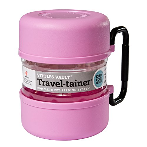Vittles Vault Gamma TRAVEL-tainer, Pink by Gamma2, Inc.