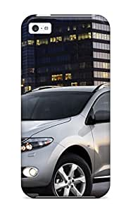 LJF phone case Cynthaskey Iphone 5c Hybrid Tpu Case Cover Silicon Bumper Nissan Murano 2543654