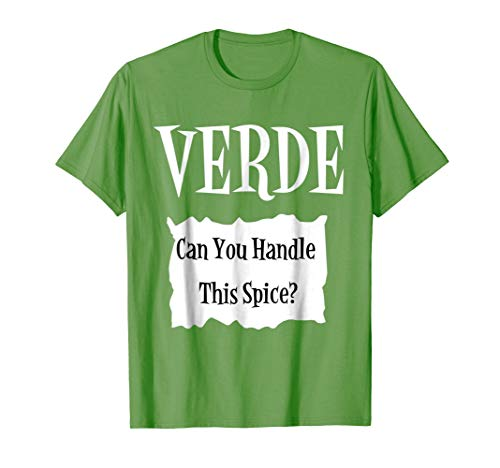 VERDE - Hot Packet Halloween Taco Costume T-Shirt -