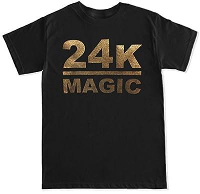 FTD Apparel Men's 24K Magic T Shirt