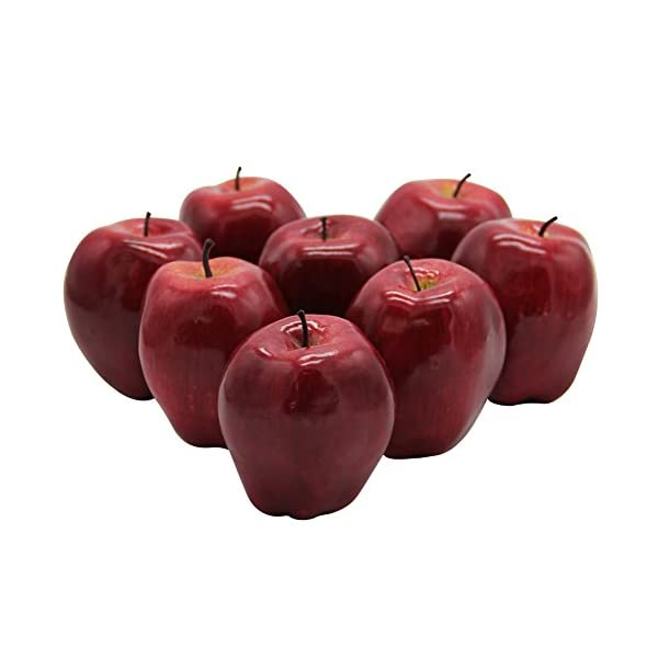 YOFIT-Artificial-Apple-Fake-Fruit-for-Home-Kitchen-Decoration8-Pack