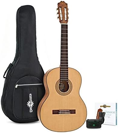 Pack de Guitarra Espanola Deluxe de Gear4music: Amazon.es ...