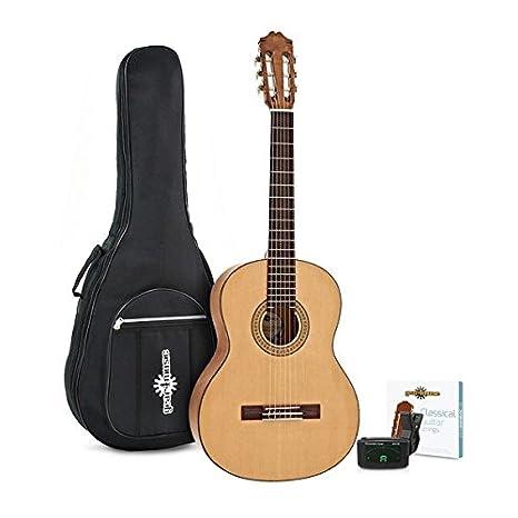 Pack de Guitarra Española Deluxe de Gear4music: Amazon.es: Instrumentos musicales