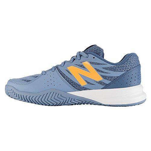 New Balance Dames 786v2 Demping Tennisschoen Grijs / Geel