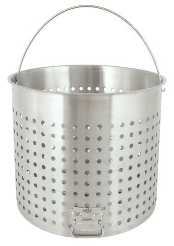 Bayou Classic B182, 82-Qt. Stainless Perforated Basket