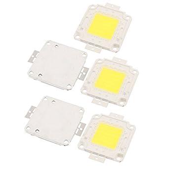 Amazon.com: eDealMax 5 x 50W 27-30V la viruta del LED bulbo ...