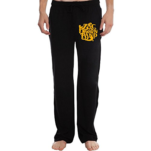 PTR Men's Zac Brown Band Logo Sweatpants Color Black Size 3X ()