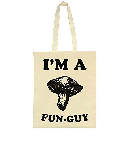 Pun A I'm Tote Fun I'm Mushroom Funny Guy Bag A TFFqawE0