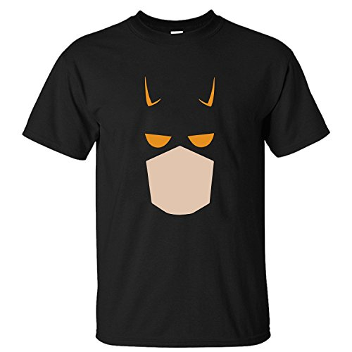 [TOTOT Men's Daredevil Cartoon Comics Costume Super Hero Cotton T Shirt black XXL] (Daredevil Black Costumes)