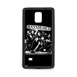 Onshop Custom Black Veil Brides Phone Case Laser Technology for SamSung Galaxy Note4