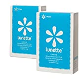 Lunette Cup Wipes (Portable - Compostable - Disinfecting) - 2 Pack