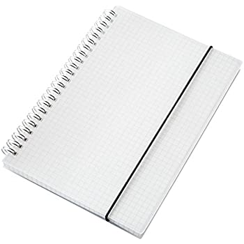 "Dahey Quad Ruled Notebook Graph Paper, 8 1/4"" x 5 1/2"""