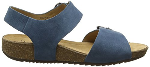 Hotter Tourist - Sandalias con Punta Abierta Mujer Blue (Blue River)
