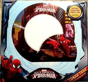 Marvel Ultimate Spiderman Double Sided Lunar .6 gallon Betta or Goldfish tank by Marvel