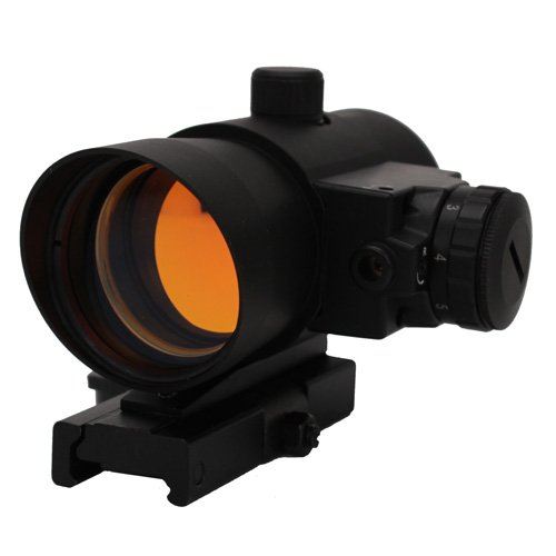 NcSTAR 1X40 Red Dot Sight with Built in Red Laser/Quick Rele