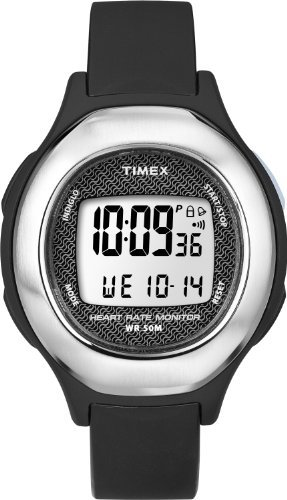 Timex Timex Health Touch HRM Watch – Black/Silver
