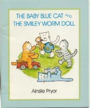 The Baby Blue Cat and the Smiley Worm doll (Trumpet Club Special Edition)