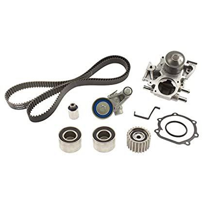 Image of Aisin TKF-004 Engine Timing Belt Kit with New Water Pump Timing Belt Kits