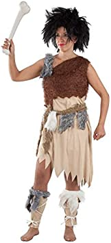 DISBACANAL Disfraz de troglodita para Mujer - -, M: Amazon.es ...