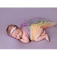 Rainbow Cheesecloth Wrap Scarf - Newborn Photography Prop