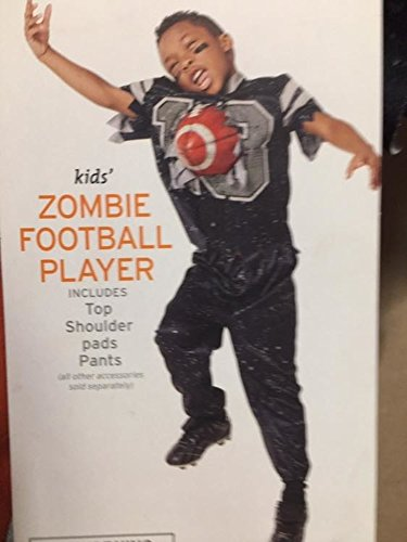 Onceuponasale Costume Boys Zombie Football Player Kids Halloween
