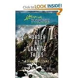 Murder At Granite Falls (Love Inspired Suspense) Large Print (BIG SKY SECRETS)