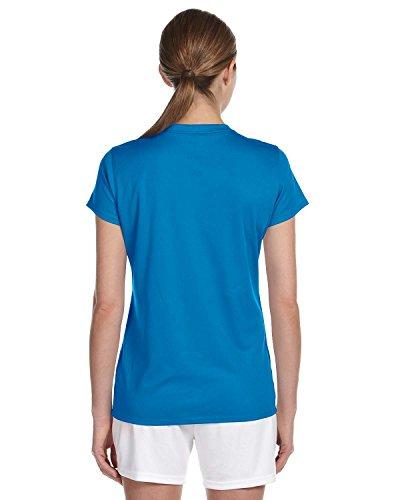 New Balance Ndurance LadiesÆ Athletic V-Neck T-Shirt Sapphire