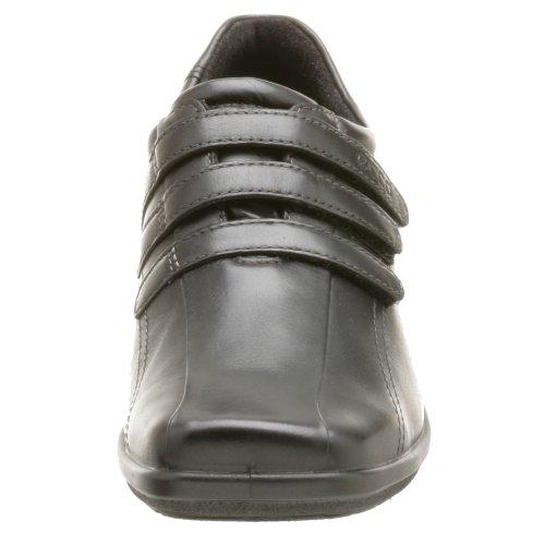 Ecco Damesschoen Voor Dames, Drie Velcro-schoen Zwart