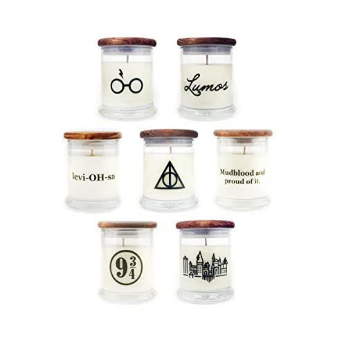 Pick Any Two - Harry Potter Gift Set - Butterbeer - Harry Potter Quote Candles - Book Lover Gift - Movie Lover Gift