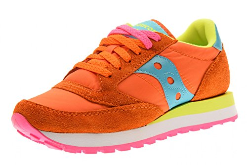 Femme Daim Chaussures Sneakers Original Beige en Orange Saucony Baskets Jazz Blue Bright x1XqdSwtdg