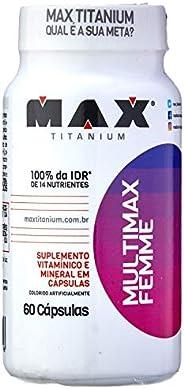 Multimax Femme - 60 Cápsulas, Max Titanium