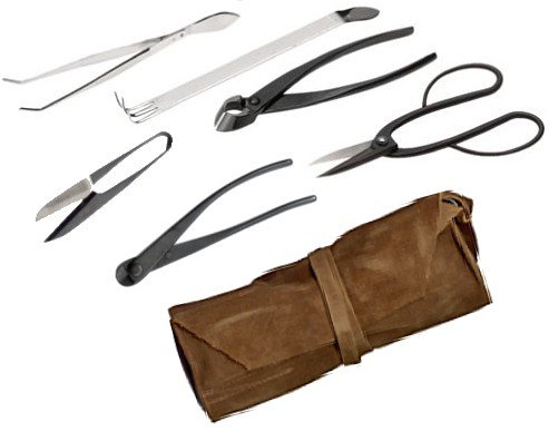 Bonsai Tool Kit, Intermediate Small 7 Piece