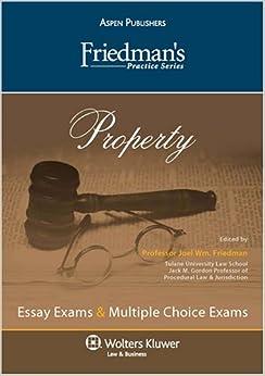 Book Property (Friedman's Practice)