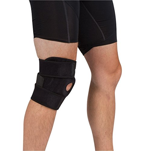 Non-slip Knee Brace Left//Right//Behin Quales Pro Sport Adjustable