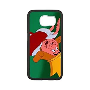 Samsung Galaxy S6 Phone Ceses white Alice in Wonderland The King of Hearts CF9613303