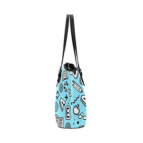 Carryland Crossbody väskor cartoon söt arbetsrum små föremål läder hand död väska vardagliga handväskor med dragkedja axel organizer för kvinnor flickor kvinnor axelväska