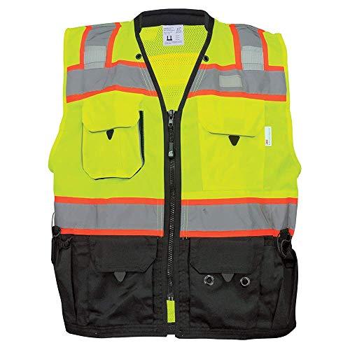 (GLO-099 - FrogWear HV - Premium High-Visibility Surveyors Safety Vest - X-Large)