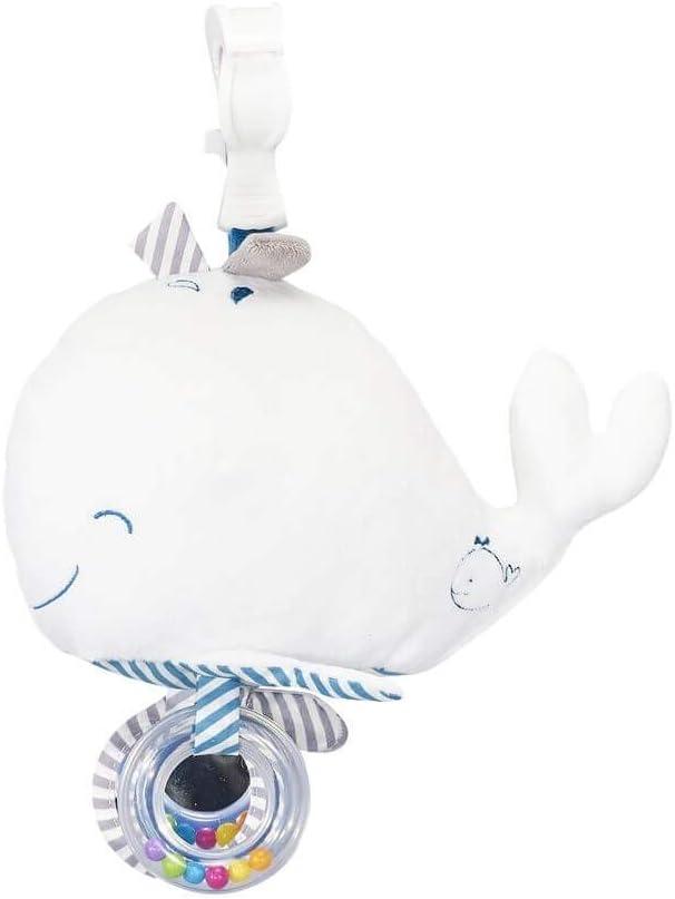 Sauthon Baby Deco Mobile dactivit/és avec pince Blue Baleine