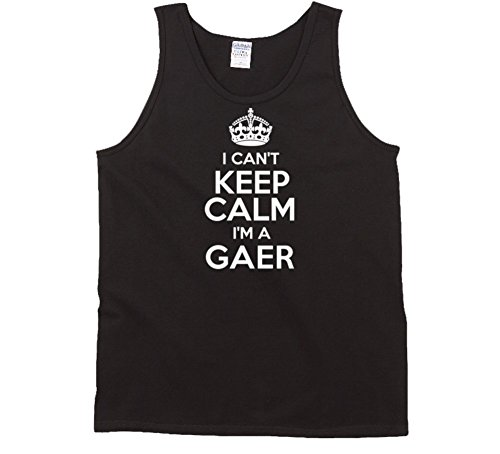 Gaer I Cant Keep Calm Parody Tanktop XL Black